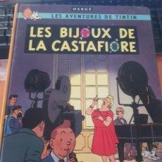 Comics : TINTIN LES BIJOUX DE LA CASTAFIORE 1963 CASTERMAN,FRANCES. Lote 196639091