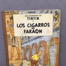 Comics : TINTÍN Y LOS CIGARROS DEL FARAÓN PRIMERA EDICIÓN AÑO 1964 EN BUEN ESTADO. Lote 196957708