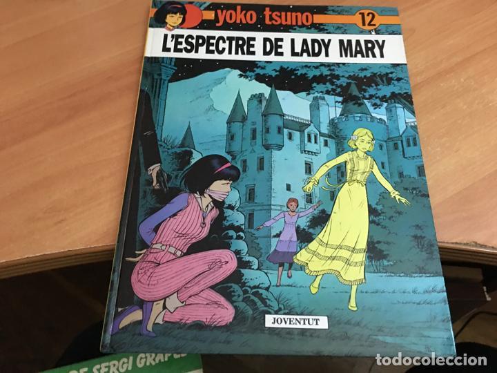 YOKO TSUNO Nº 12 L'ESPECTRE DE LADY MARY JOVENTUT TAPA DURA 1990 (COIB64) (Tebeos y Comics - Juventud - Yoko Tsuno)
