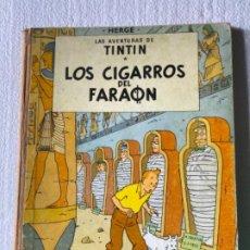 Cómics: LAS AVENTURAS DE TINTÍN (LOS CIGARROS DEL FARAÓN) 1972. Lote 197159736