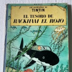 Cómics: LAS AVENTURAS DE TINTÍN (EL TESORO DE RACKHAM EL ROJO) 1971. Lote 197160143
