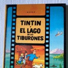 Cómics: LAS AVENTURAS DE TINTÍN (TINTIN Y EL LAGO DE LOS TIBURONES) 1974. Lote 207075242