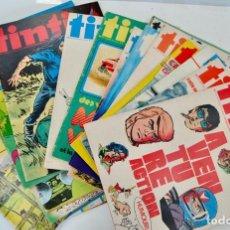 Cómics: LOTE DE 21 NÚMEROS. TINTÍN. L´HEBDOMADAIRE DES SUPER JEUNES. REVISTA TINTÍN. AÑOS 60-70. BRUSELAS. Lote 197214226
