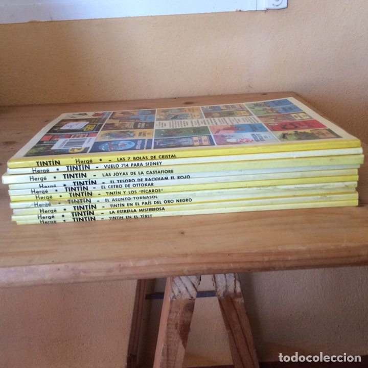 Cómics: 10 LAS AVENTURAS DE TINTIN - Foto 2 - 197260033