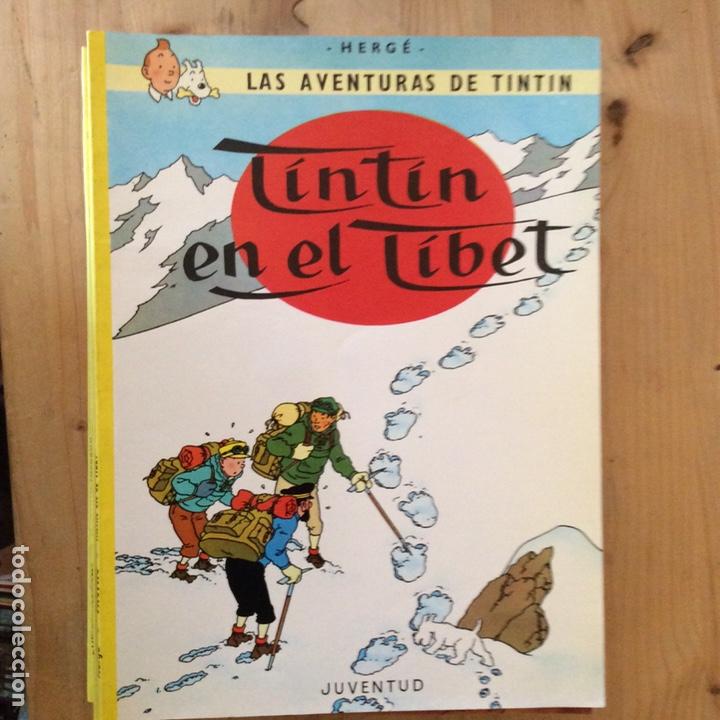10 LAS AVENTURAS DE TINTIN (Tebeos y Comics - Juventud - Tintín)