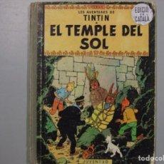 Comics : 4 TITULOS DE TINTIN PRIMERAS EDICIONES EN CATALAN. Lote 197370525