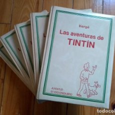 Cómics: LAS AVENTURAS DE TINTÍN COMPLETA EN 5 TOMOS - CREDILIBRO. Lote 222414903
