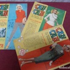 Comics : CAN CAN . REVISTA DE LAS BURBUJAS. NUMEROS 38..89..121. 1958. Lote 197452063