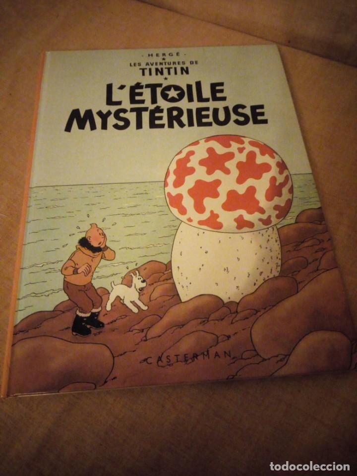 TINTIN L'ETOILE MYSTERIEUSE 1966 BELGIUM,EN FRANCES. (Tebeos y Comics - Juventud - Tintín)