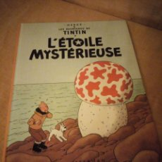 Cómics: TINTIN L'ETOILE MYSTERIEUSE 1966 BELGIUM,EN FRANCES.. Lote 197502378