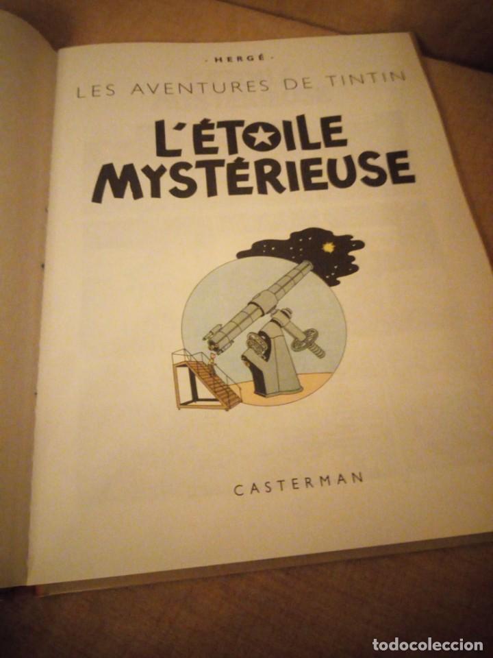Cómics: tintin letoile mysterieuse 1966 belgium,en frances. - Foto 3 - 197502378