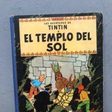 Comics : TINTÍN Y EL TEMPLO DEL SOL PRIMERA EDICIÓN AÑO 1961 EN MUY BUEN ESTADO.. Lote 197508478