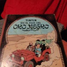 Comics : TINTÍN EN EL PAÍS DEL ORO NEGRO. Lote 197589780