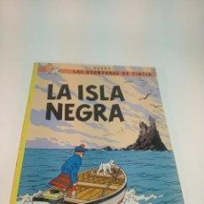 Cómics: LAS AVENTURAS DE TINTIN. LA ISLA NEGRA. HERGÉ. JUVENTUD. TAPA BLANDA. 1983.. Lote 197749408