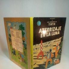 Cómics: LAS AVENTURAS DE TINTIN. ATERRIZAJE EN LA LUNA. HERGÉ. JUVENTUD. TAPA DURA. 1981.. Lote 197750801