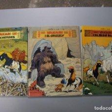 Cómics: LOTE DE 3 TITULOS DE YAKARY. Lote 197982405