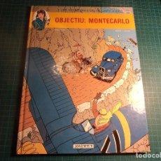 Cómics: LES AVENTURES DE JANUARY JONES. OBJECTIU MONTECARLO. JOVENTUT. EN CATALAN. (M-8). Lote 198097457