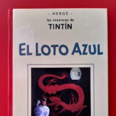 Cómics: TINTÍN - EL LOTO AZUL (PRIMERA VERSIÓN BLANCO Y NEGRO) (CASTERMAN / PANINI). Lote 235030355