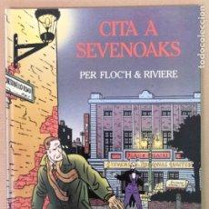 Cómics: CITA A SEVENOAKS PER FLOC'H & RIVIERE. Lote 198207792