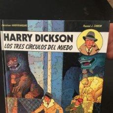 Cómics: (M11) HARRY DICKSON - LOS TRES CÍRCULOS DEL MIEDO NUM 3 EDT JUVENTUD 1991 - P J ZANON,. Lote 221227720