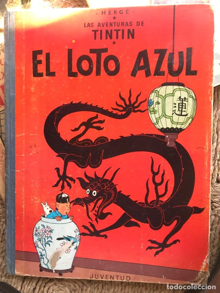 EL LOTO AZUL PRIMERA EDICION (Tebeos y Comics - Juventud - Tintín)