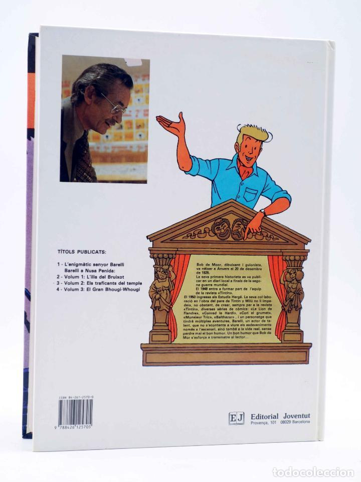 Cómics: BARELLI A NUSA PENIDA VOLUM 3. EL GRAN BHOUGI-WHOUGI (Bob De Moor) Joventud, 1991 - Foto 2 - 198672191