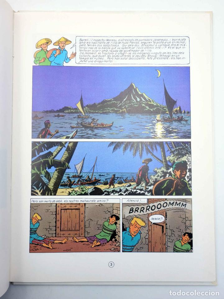 Cómics: BARELLI A NUSA PENIDA VOLUM 3. EL GRAN BHOUGI-WHOUGI (Bob De Moor) Joventud, 1991 - Foto 4 - 198672191