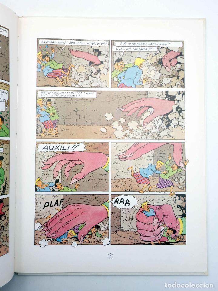 Cómics: BARELLI A NUSA PENIDA VOLUM 3. EL GRAN BHOUGI-WHOUGI (Bob De Moor) Joventud, 1991 - Foto 5 - 198672191