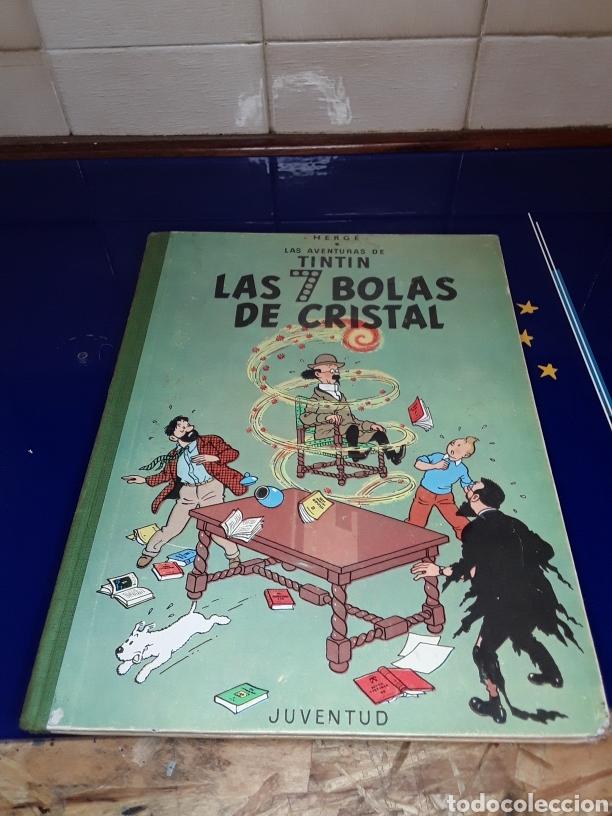 CÓMIC DE LAS AVENTURAS DE TINTÍN (LAS 7 BOLAS DE CRISTAL) (Tebeos y Comics - Juventud - Tintín)