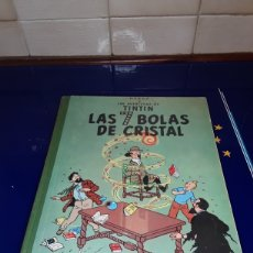 Cómics: CÓMIC DE LAS AVENTURAS DE TINTÍN (LAS 7 BOLAS DE CRISTAL). Lote 198903353