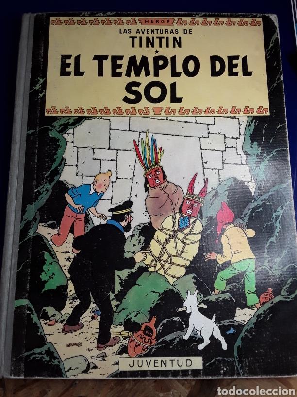 CÓMIC DE LAS AVENTURAS DE TINTÍN (EL TEMPLO DEL SOL) (Tebeos y Comics - Juventud - Tintín)