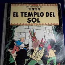 Cómics: CÓMIC DE LAS AVENTURAS DE TINTÍN (EL TEMPLO DEL SOL). Lote 198903763
