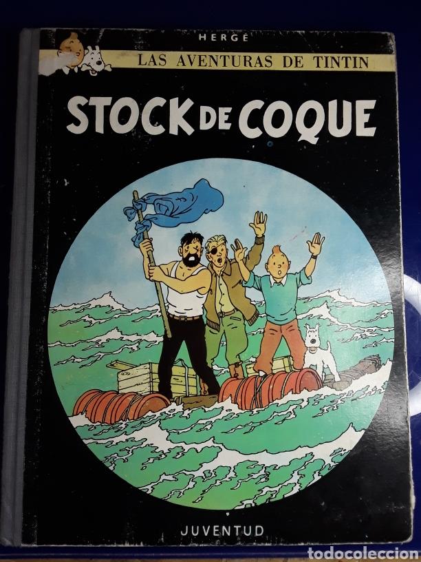 CÓMIC DE LAS AVENTURAS DE TINTÍN (STOCK DE COQUE) (Tebeos y Comics - Juventud - Tintín)
