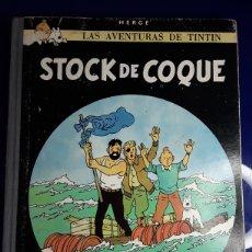 Cómics: CÓMIC DE LAS AVENTURAS DE TINTÍN (STOCK DE COQUE). Lote 198904337