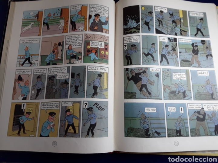 Cómics: Cómic de las aventuras de tintín (en el país del oro negro) - Foto 2 - 198929080
