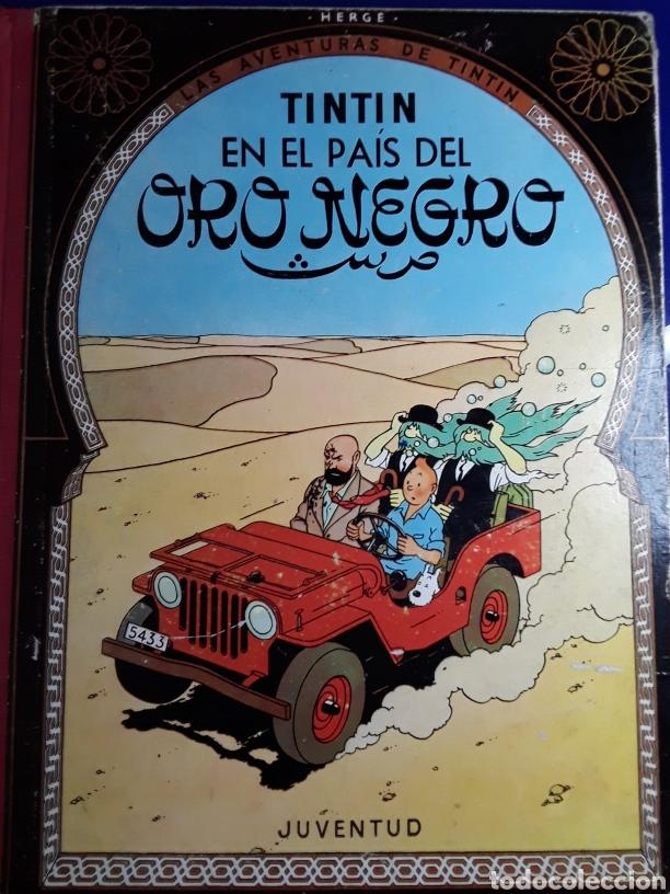 CÓMIC DE LAS AVENTURAS DE TINTÍN (EN EL PAÍS DEL ORO NEGRO) (Tebeos y Comics - Juventud - Tintín)