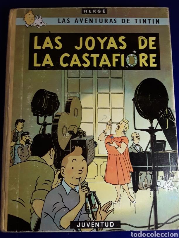 CÓMIC DE LAS AVENTURAS DE TINTÍN (LAS JOYAS DE LA CASTAFIORE) (Tebeos y Comics - Juventud - Tintín)