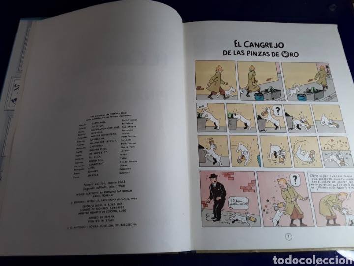 Cómics: Cómic de las aventuras de tintín (el cangrejo de las pinzas de oro) - Foto 2 - 198930210