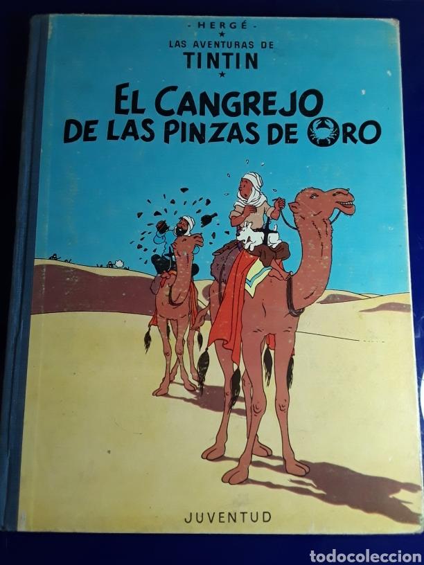 CÓMIC DE LAS AVENTURAS DE TINTÍN (EL CANGREJO DE LAS PINZAS DE ORO) (Tebeos y Comics - Juventud - Tintín)
