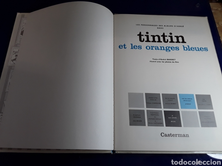 Cómics: Cómic de las aventuras de tintín en frances (et les orenges bleues) - Foto 2 - 198930897