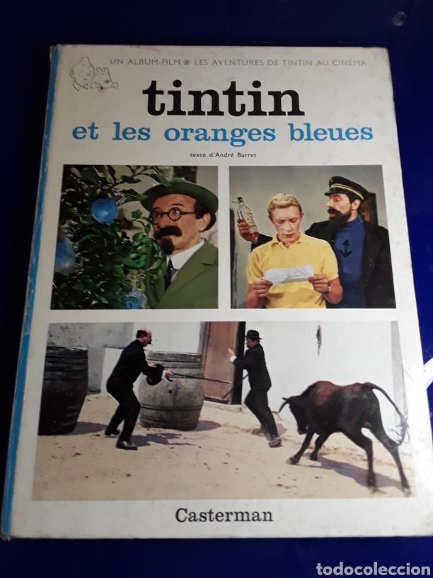 CÓMIC DE LAS AVENTURAS DE TINTÍN EN FRANCES (ET LES ORENGES BLEUES) (Tebeos y Comics - Juventud - Tintín)