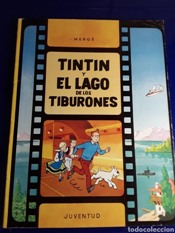 CÓMIC DE LAS AVENTURAS DE TINTÍN (TINTÍN Y EL LAGO DE LOS TIBURONES) (Tebeos y Comics - Juventud - Tintín)