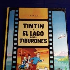 Comics : CÓMIC DE LAS AVENTURAS DE TINTÍN (TINTÍN Y EL LAGO DE LOS TIBURONES). Lote 198931942