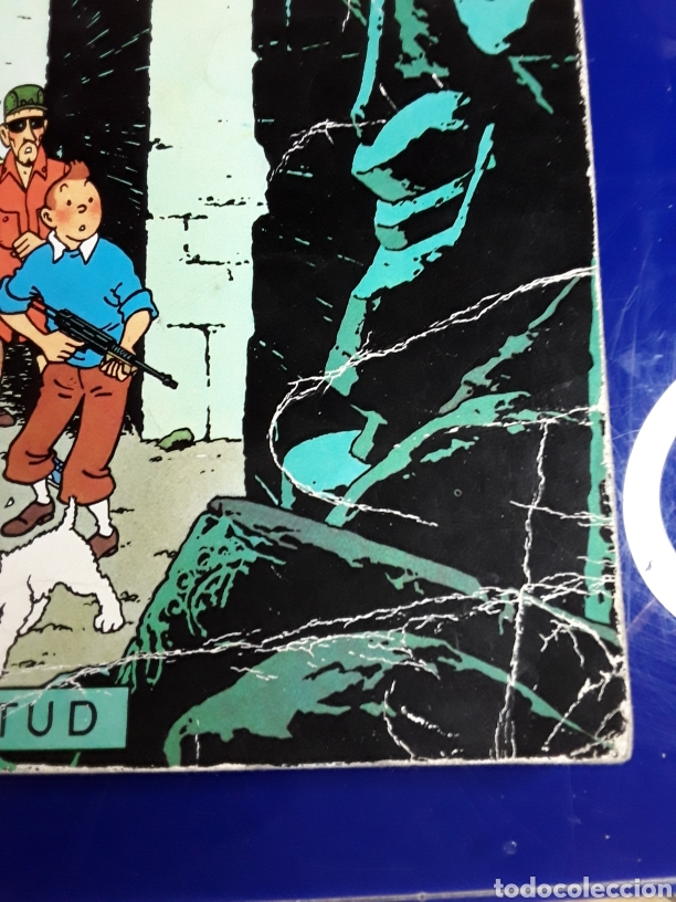 Cómics: Cómic de las aventuras de tintín(vuelo 714 para sidney) - Foto 2 - 198933102