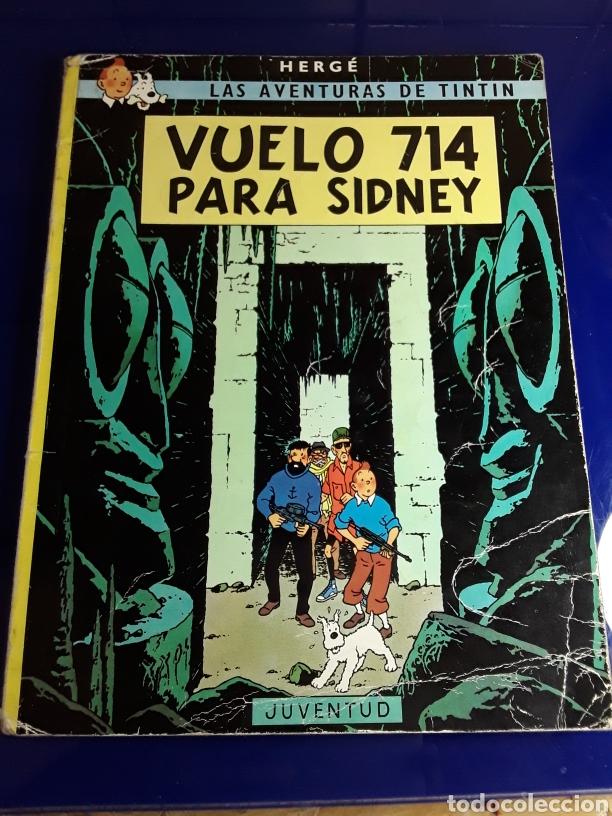 CÓMIC DE LAS AVENTURAS DE TINTÍN(VUELO 714 PARA SIDNEY) (Tebeos y Comics - Juventud - Tintín)