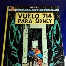 Cómics: CÓMIC DE LAS AVENTURAS DE TINTÍN(VUELO 714 PARA SIDNEY). Lote 198933102