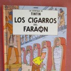 Cómics: LAS AVENTURAS DE TINTÍN - LOS CIGARROS DEL FARAÓN - HERGÉ - ED. CASTERMAN 2001. . Lote 198987076