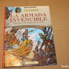 Cómics: CORI EL GRUMETE, LA ARMADA INVENCIBLE VOLUMEN 2 EL DRAGÓN DE LOS MARES, TAPA DURA, ED. JUVENTUD. Lote 199184372