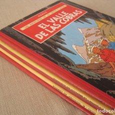Cómics: LAS AVENTURAS DE JO ZETTE JOCKO - 1º EDICIÓN--LOMO TELA --TINTIN HERGÉ--COMPLETA--JUVENTUD. Lote 199452017