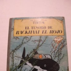 Comics : PRIMERA EDICIÓN ESPAÑOLA. TINTÍN. EL TESORO DE RACKHAM EL ROJO. JUVENTUD 1960. Lote 199515015